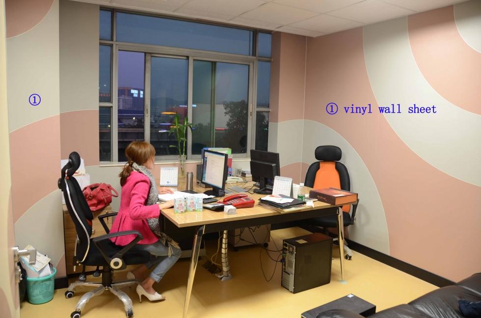 Lắp đặt tấm ốp tường cho văn phòng, phòng làm việc